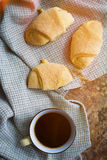 Hot black coffee Stock Image