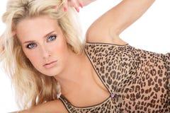 Hot blond Stock Photos