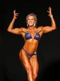 Hot Blonde Bodybuilder Royalty Free Stock Images