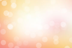 Hot bokeh background Royalty Free Stock Photos