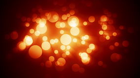 Hot Bokeh Particles Loop Background stock footage