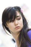 Hot brunette Stock Photo