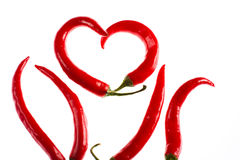 Hot burning love Royalty Free Stock Photography