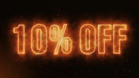 10% OFF Word Burning Realistic Fire Flames Sparks continuous seamlessly loop. Hot Burning on Realistic Fire Flames Sparks And Smoke continuous seamlessly loop stock video