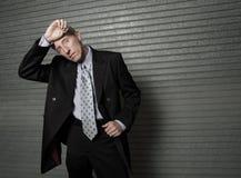 Hot businessman Stock Photo
