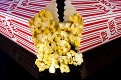 Hot buttered popcorn Royalty Free Stock Photos