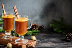 Hot buttered rum Royalty Free Stock Photography