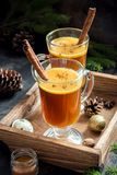 Hot buttered rum Stock Photography