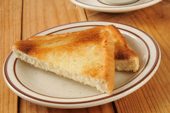 Hot buttered Texas toast Stock Photography