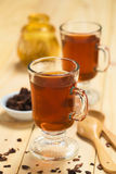 Hot Cacao Shell Tea Stock Photo