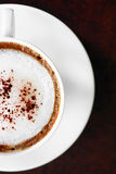 Hot Cafe Latte Stock Photography