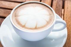 Hot cafe mocha Royalty Free Stock Photo