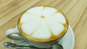 Hot cappuccino coffee Stock Photos