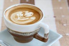 Hot cappuccino Stock Photos