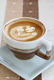 Hot cappuccino Royalty Free Stock Image