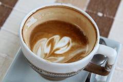 Hot cappuccino Royalty Free Stock Photos