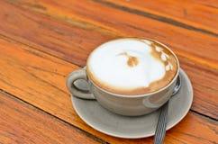 Hot cappuccino Stock Photo