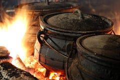 Hot Cauldron Royalty Free Stock Photos
