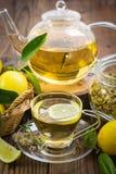 Hot chamomile tea Stock Image
