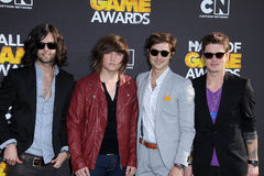 Hot Chelle Rae at the Cartoon Network Hall of Game Awards, Barker Hangar, Santa Monica, CA 02-18-12 Royalty Free Stock Image