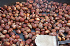 Hot Chestnuts Royalty Free Stock Images