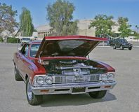 Hot Chevy Chevelle Malibu SS 396 stock images