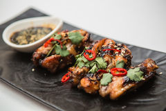 Hot chicken wings Stock Images