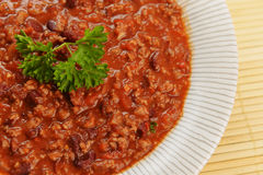 Hot chili con Royalty Free Stock Images