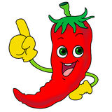 Hot Chili icon Royalty Free Stock Photo