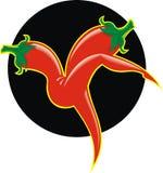 Hot chili Royalty Free Stock Photo
