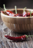 Hot chili pepper for cooking Royalty Free Stock Photos