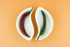 Hot chili pepper Stock Image