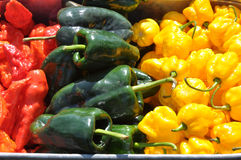 Hot Chili Peppers Royalty Free Stock Photos