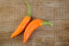Hot chili peppers Royalty Free Stock Images