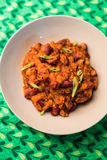 Hot chili sin carne with beans Stock Image