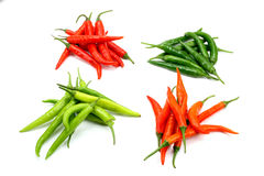 Hot chilies Stock Image