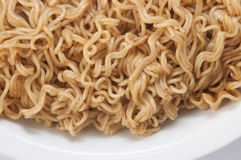 Hot chill fast noodles Royalty Free Stock Photos