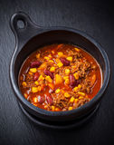 Hot chilli con carne Royalty Free Stock Images