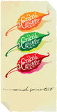 Hot chilli paper label Stock Image