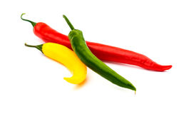 Hot chilli pepper Royalty Free Stock Photography