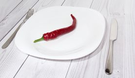 Hot chilli pepper Stock Photo