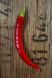 Hot chilli pepper Royalty Free Stock Photo