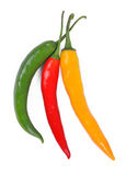 Hot chilli peppers Royalty Free Stock Photo