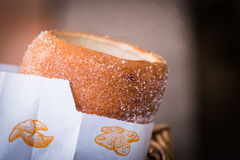 Hot Chimney Cake Stock Images