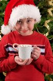 Hot chocolate stock photo