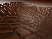 Hot Chocolate. Chocolate highly detailed 3D render Stock Photography