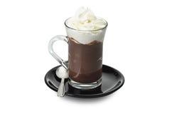 Hot chocolate art Royalty Free Stock Photos