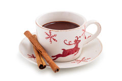 Hot chocolate. Stock Images
