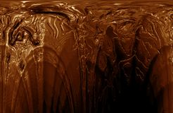 Hot chocolate closeup Royalty Free Stock Photos