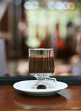 Hot Chocolate With Cognac Royalty Free Stock Photos